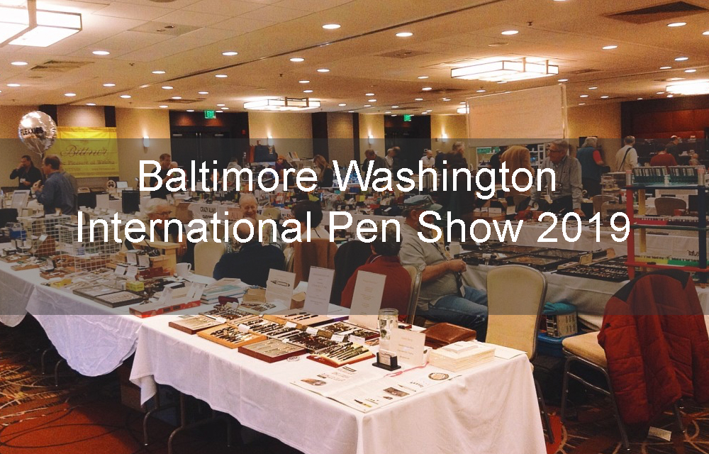 Baltimore Washington Pen Show