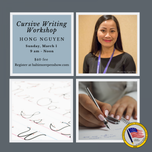 cursive handwriting workshop