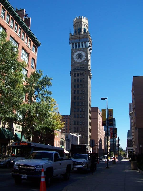Go To The Top Of The Once Tallest Building In Baltimore